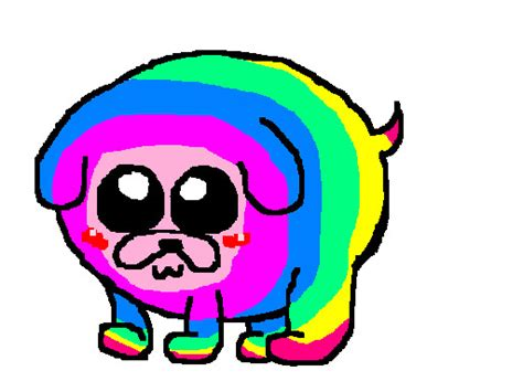 rainbow puppy pin doll puppy rainbow welcome myspace graphics pictures images on