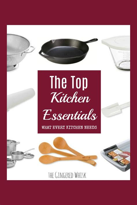 best kitchen essentials the top kitchen essentials every kitchen needs the