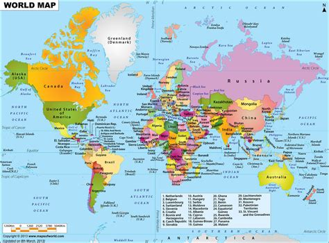 maps usa continents world populations english