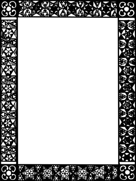 cornici bianco e nero immagine vettoriale gratis cornici bianco e nero vuoto