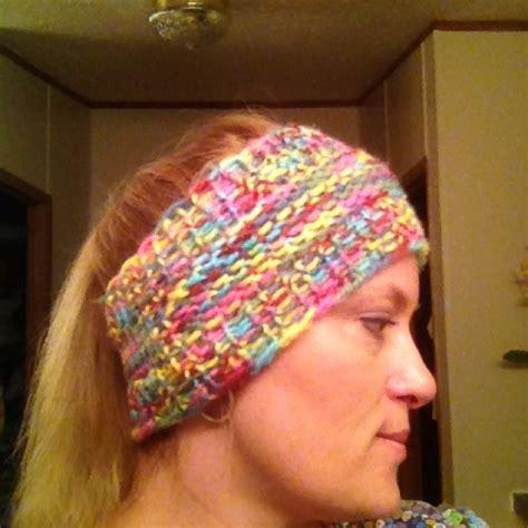 Loom Knit Ear Warmer Free Knifty Knitter Patterns