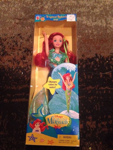 1997 Doll By Mattel by New 1997 Disney S The Mermaid Ariel Tropical