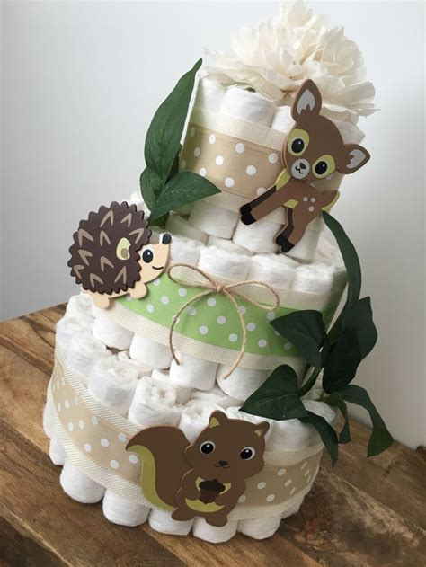 Cake For Baby Shower Centerpiece by Woodland Cake Baby Shower Centerpiece Gender