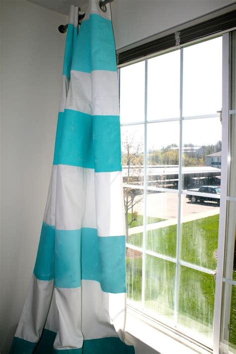 how to make ombre curtains la vie diy diy ombre striped curtains