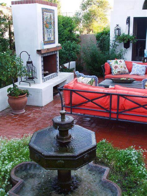 spanish courtyard designs intra design ethnic and old world decorating ideas