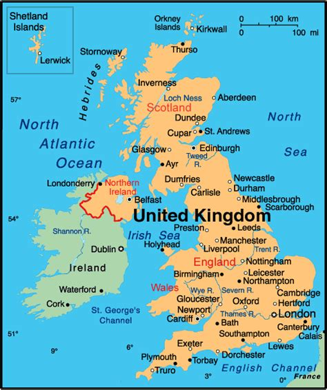 map of the united kingdom geography map of uk united kingdom detailed