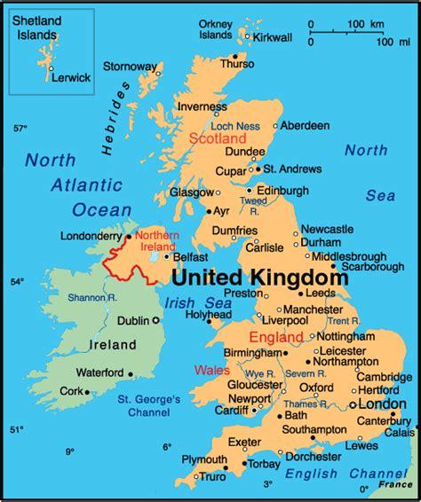 map of the united kingdom geography map of uk united kingdom detailed