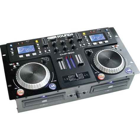 Usb Player gem sound cmp 500 dual cd mp3 usb player and mixer cmp500
