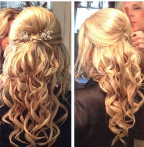 dance hairstyles for long straight hair women hairstyle half up hairstyles for prom updos long
