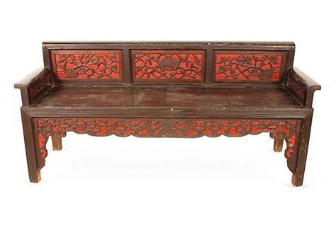 one kings lane bench one kings lane vintage antique furniture 1930s