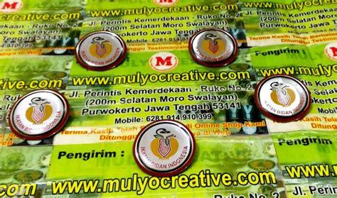 Pin Security Gada Pratama pesan name tag lencana pin plakat lycal resin atribut