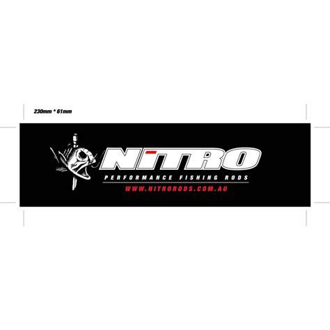 nitro boats sticker nitro boat sticker nitro rods
