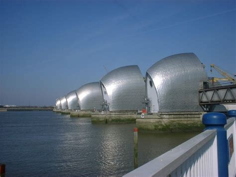 thames barrier design construction mfd thames barrier