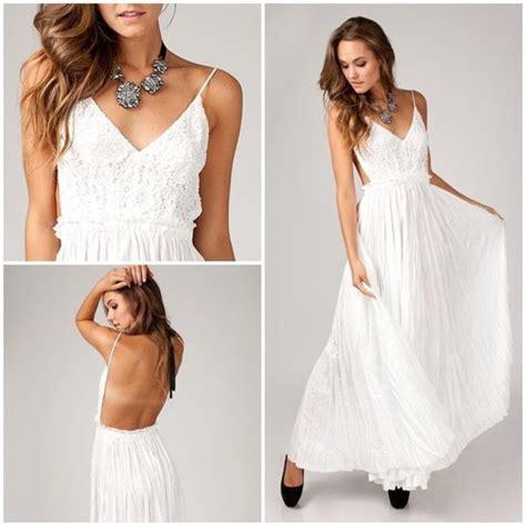 dress white whitr dress white dress open back dresses open back prom dress maxi dress