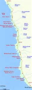 boardman oregon map samuel h boardman state scenic corridor brookings oregon