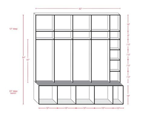 mudroom locker plans with mudroom locker plans cheap 17 best images about mudroom ideas on pinterest interior