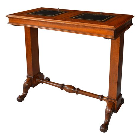 Table Th by Late 19th Century Oak Patent Reading Table Richard