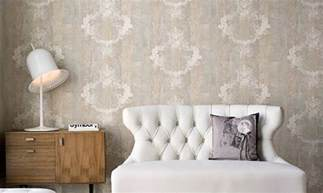 shabby chic wallpaper mix n match patterned wallpaper