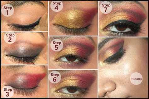 wedding eye makeup step by step gorgeous gujarati bridal makeup tutorial step by step