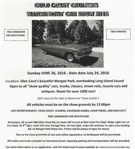 glen cove car show vanderbilt cup races 2016 gold coast cruisers waterfront