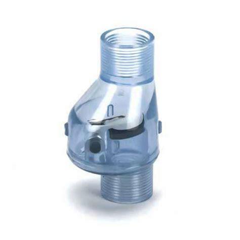 Best Seller Bio Aquapura 2 Inch 5 In 1 pvc flapper check valve no clear fpt x fpt