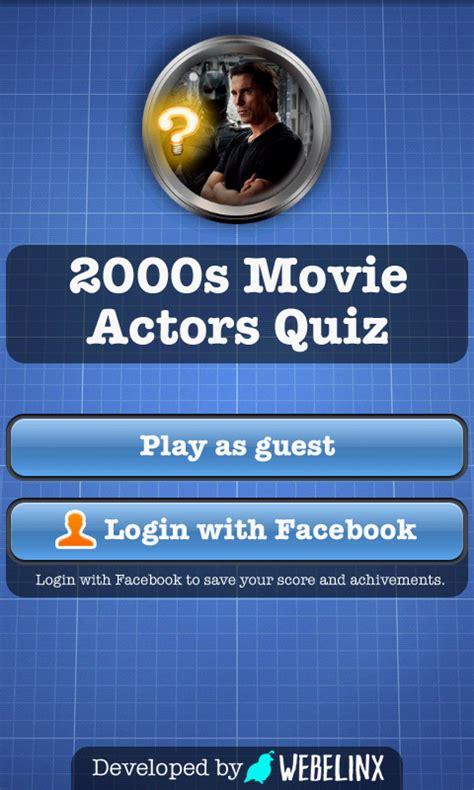 film quiz questions 2000s 2000s movie actors quiz free apk android app android