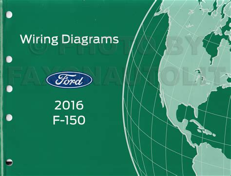 2016 ford f 150 wiring diagram manual original