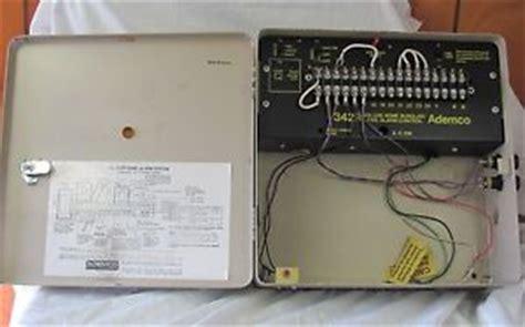 ademco 342r vintage home alarm system ebay