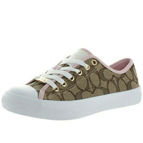 empire sneakers coach new coach empire signature logo sneakers low top