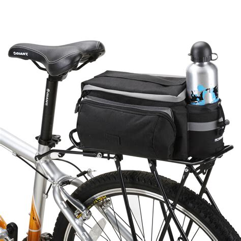 Bicycle Rear Rack Basket by New Multifunctional Roswheel Mountain Bike Saddle Basket