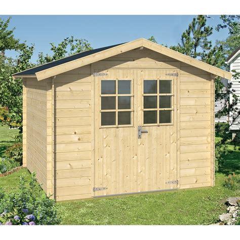 abri de jardin en bois bricorama abri malaga sans plancher 5 48 m2 abris de jardin abris de jardin garage jardin exterieur