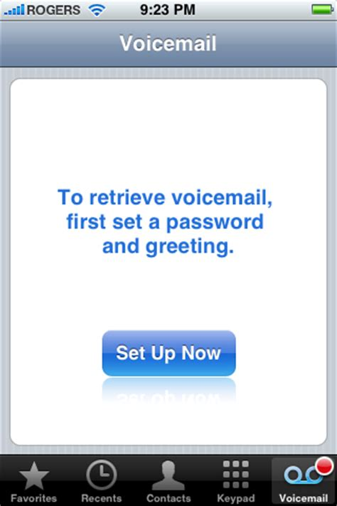 how to reset voicemail password on iphone six how to setup visual voicemail on the iphone iclarified