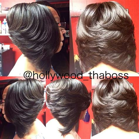 invisible part hair styles bob sew in with invisible part www pixshark com images