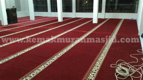 Karpet Sajadah Masjid Di Surabaya jual karpet sajadah masjid turki roll berkualitas tebal di