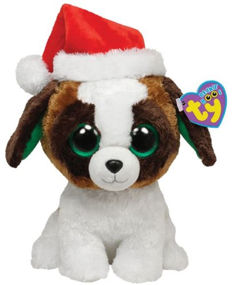 ty beanie boos dogs ty beanie boos presents with hat medium b00996bgky baby toys baby