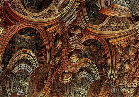 Cathedral Paintings Ceiling by Cathedral Ceiling Digital By Bernard Michel