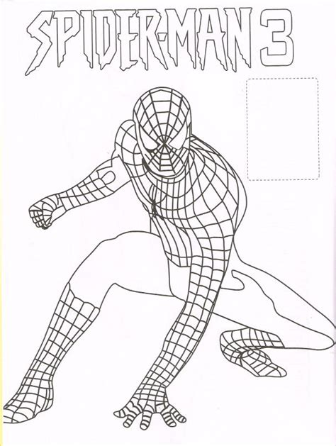 coloring pages spiderman 3 spiderfan org comics spider man 3 stickers coloring