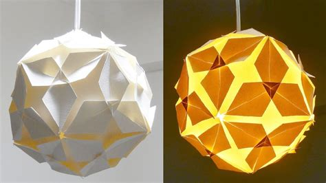 How To Make Lshades Out Of Paper - diy l how to make a lshade lantern