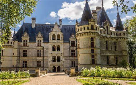 Azay De Rideau by Francja Azay Le Rideau Zamek
