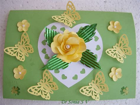 card tutorials and projects cards crafts projects pop up card growing flower