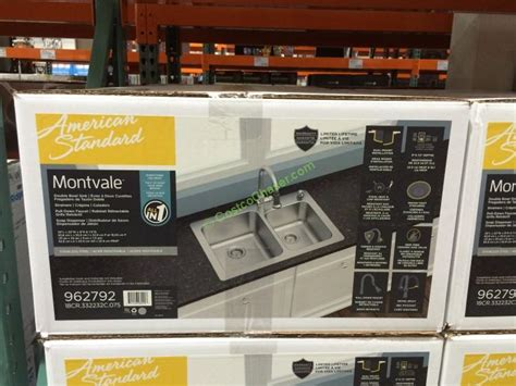 Costco Kitchen Sink American Standard Stainless Steel Kitchen Sink With Pulldown Faucet Model Rl1258 W Costcochaser