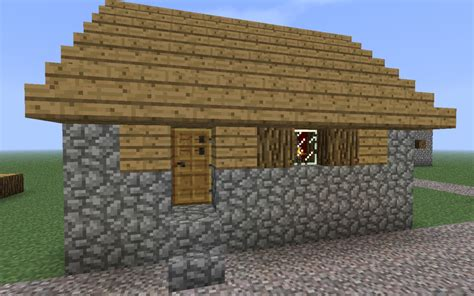 minecraft village house modified villager house minecraft project
