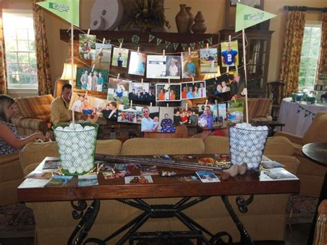 memorial table for funeral golf memory table funeral ideas a celebration of life