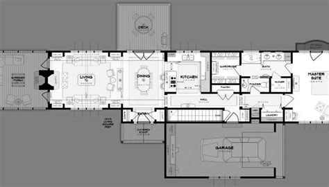 Rear Garage House Plans For Narrow Lots On Waterfront Waterfront Narrow Lot House Plans