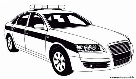 coloring pages cop cars police car patrol on the road coloring pages printable