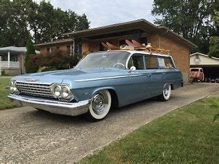 1962 chevrolet bel air station wagon for sale: photos