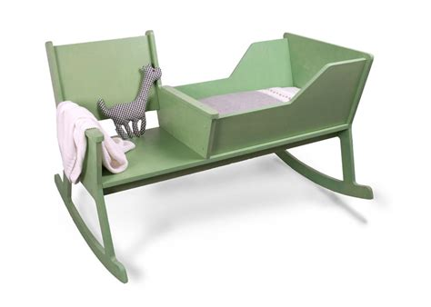Rocking Chair With Cradle and comfortable rocking chair with baby cradle 226 rockid from ontwerpduo kidsomania