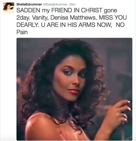 singer and actress vanity dies the former deadline 36 best images about celebrity talk catch these t s on
