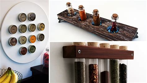 diy outdoor spice rack 16 practical handmade spice rack ideas that will help you