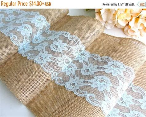 burlap table runners with lace for sale on sale burlap table runner wedding table runner pastel